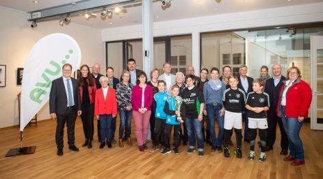 Spendenübergabe TIPP-KICK 2019 im Schloß Martfeld - Schwelm